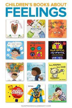 Feelings can be overwhelming for kids, especially when they don't yet know what they are. Help your child with these 23 children's books about feelings, from sad to angry to happy. Best Children Books, Toddler Books, Childrens Books, Play Based Learning, Learning Through Play, Parenting Articles, Kids And Parenting, Teaching Empathy, Feel Good Books