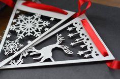 Festive Laser Paper Cut Bunting
