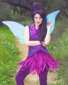 """""""Today Fairy Feature is... Me as Vidia that Fast Flying Fairy! I had a fun time creating this one and used figure skaters as inspiration to when deciding…"""""""