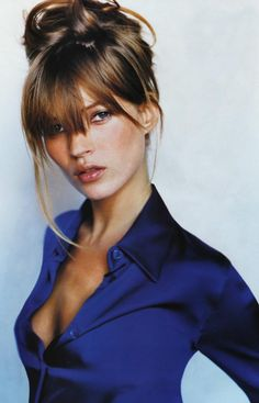 Kate Moss... Ok, not exactly Hollywood, but still...