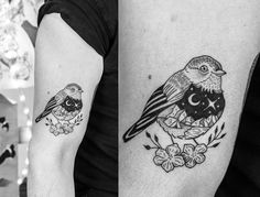 Bird by Tia Perla Tattoo Tatuaje Blackwork Blackworker Tattoos Idea Pajaro Pajarito Ink Inked