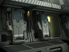 ArtStation - Halo modular environment, Oleg Tsitovich
