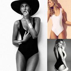 Summer Sexy Women One Piece Bikini Monokini Swimsuit Padded Backless Swimwear in Clothing, Shoes & Accessories | eBay