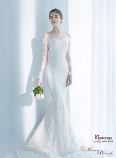 Saving On Wedding Dresses Wedding Gown A Line, Lace Mermaid Wedding Dress, Dream Wedding Dresses, Bridal Dresses, Wedding Gowns, Beautiful Dresses, Marie, Mermaid Style, Bridal Collection