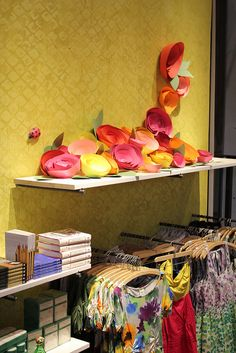 Blog of a designer who does Anthropologie displays.  What creative inspiration!