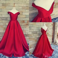Red Carpet Long Formal Pageant Prom Gowns With Belt Sexy V Neck Ball Gowns Open Back Lace Up Vintage Wedding Dress Party Evening Real Photos