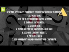 How Can I Advertise My Business? - https://www.startyourfirstonlinebusinessforfree.com/how-to-advertise-your-business/how-can-i-advertise-my-business/