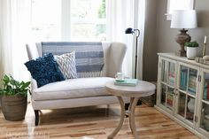 Turkish Towel Over a Sofa - The Inspired Room
