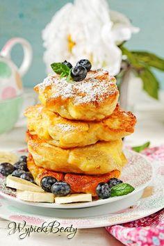 racuchy z bananami_1 Pancakes, French Toast, Cooking, Breakfast, Recipes, Blog, Pierogi, Bakken, Kitchen