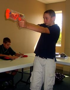Math-n-spire: Coordinate Graphing {Math Lab: Centers} **Use nerf gun for another math activity** Math Teacher, Math Classroom, Teaching Math, Teacher Stuff, Teaching Ideas, Classroom Ideas, Teacher Tips, Teaching Tools, Math Stations