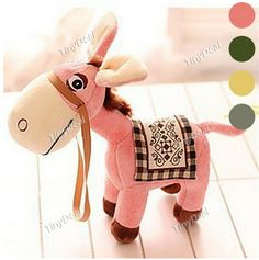 http://www.tinydeal.com/es/50cm-lovely-donkey-plush-doll-p-115919.html:50cm Lovely Donkey #Doll #Figure Plush Doll Stuffed Doll Gift Collection Toy