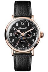 Ingersoll Men's The St Johns Quartz Watch with Leather Strap Ingersoll Watches, Seiko Watches, Patek Philippe, Luxury Watches For Men, Moon Phases, The St, Quartz Watch, Accessories, Munich