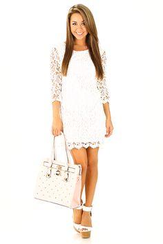 Runaway Wedding Dress: White