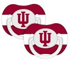 Indiana Hoosiers IU Pacifier - 2 Pack