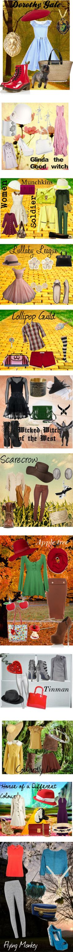 270 best Costumes images on Pinterest Costume ideas, Fantasy party - halloween group costume ideas for work