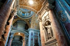 St. Peter's Basilica in Vatican City | 32 Magical Destinations To Visit In This Lifetime