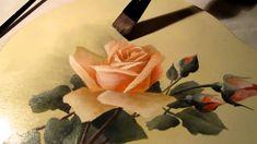 Étude de la peinture du style floral victorien