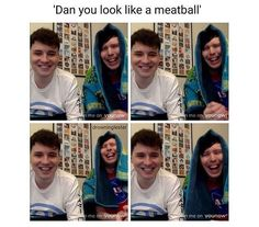 Dan just has the same facial expression in every photo