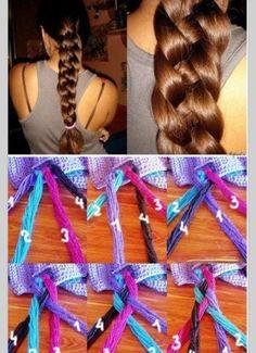 DIY Sailor's knot braid