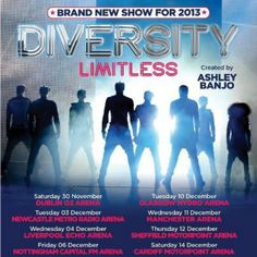 Diversity Tickets for my bday hehe Newcastle Metro, 10 December, Its My Bday, New Shows, Glasgow, Diversity, Dublin, Liverpool, Manchester