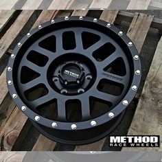 Method Race Mesh Wheels feature an aggressive multispoke and come in matte black finish with matte clear coat for protection. Rims For Cars, Rims And Tires, Wheels And Tires, Truck Wheels, Jeep Wrangler Accessories, Truck Accessories, Chevy Colorado Z71, Toyota Tundra Accessories, Custom Cars