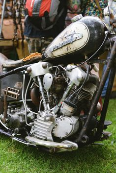 Cowboy From Hell Harley Davidson Engines, Harley Davidson Scrambler, Harley Bobber, Harley Bikes, Harley Davidson Motorcycles, Vintage Indian Motorcycles, Antique Motorcycles, Vintage Bikes, Knucklehead Motorcycle