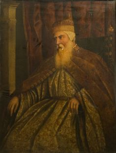 Doge Pasquale Cicogna | Tintoretto, Jacopo | V&A Search the Collections