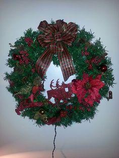 Christmas diy wreath. My creation.
