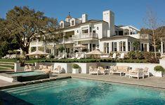 Rob Lowe's Santa Barbara home #celebrityhomes #roblowe