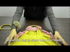 How to make a bag without sewing  http://www.facebook.com/KIMOKAME