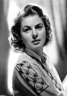 Available now at: www.etsy.com/shop/vintageimagerystore Golden Age Of Hollywood, Vintage Hollywood, Hollywood Glamour, Hollywood Stars, Hollywood Actresses, Classic Hollywood, Actors & Actresses, 1940s Actresses, Ingrid Bergman