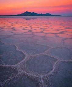Bonneville Salt Flats - Utah. Follow @wonderful_america for stunning American landscape!!! Picture by @ienjoyhiking by wonderful_places