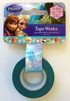 Disney Princess Frozen Washi Tape by PlayingWithColor2 on Etsy