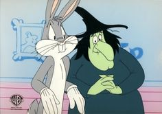 Bugs Bunny and Witch Hazel  Still my favorite Looney Tunes episodes!
