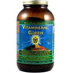 Health Force Vitamineral Green, Version 5.2, 500 gm | Longevity Warehouse