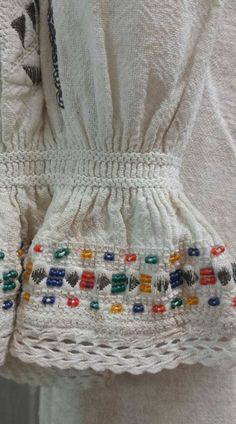 Folk Embroidery, Beaded Embroidery, Moldova, Traditional, Beads, Bulgaria, Romania, Children, Artwork