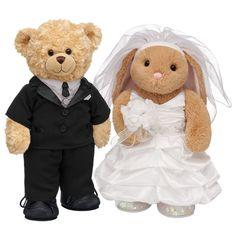 I Support Bear Rabbit Marriage Teddy Bears