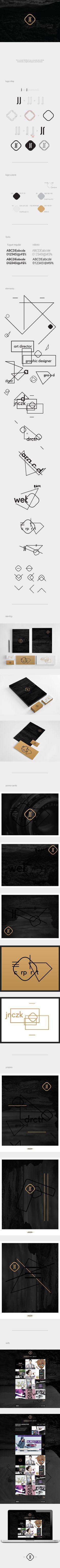 JNCZK - Visual Identity | Designer: J N CZ K
