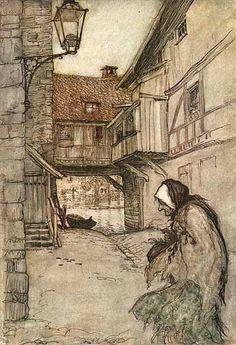 Arthur Rackham Fairy Tale | Arthur Rackham's Fairy Tales by dragonflyidt
