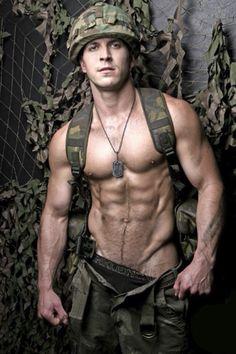 "sublimecock: "" Army trail•blazer. """