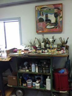 William Turner's studio