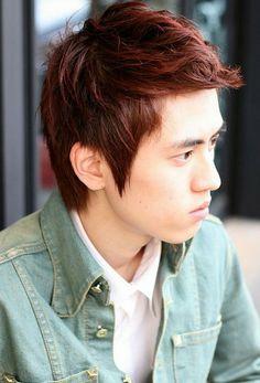 Korean Hairstyle for Men: Trendy Korean Hairstyles For Men Hipsterwall ~ hipsterwall.com Hairstyles Inspiration