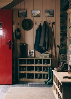 Our favourite photos from rustic homes full of character in Wales and the Lake District, cabins in the Romanian mountains and romantic French villages. Turbulence Deco, Trendy Home Decor, Cottage Interiors, Interior Design Companies, Lake District, Mudroom, Home And Family, House Design, London
