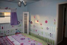 Butterfly Garden bedroom