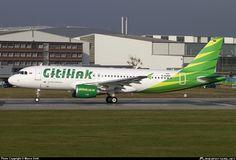 D-AUBM Citilink Garuda Indonesia Airbus A320-214