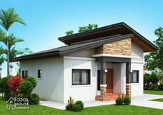 Dreaming to own a 3 bedroom bungalow House? The answer is here, the floor plan consists of 3 bedrooms and the basic parts of a complete house having 73 sq.