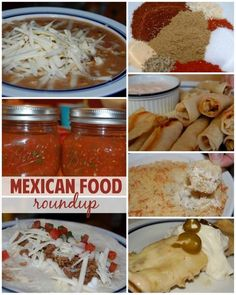 Yum! Great roundup of Mexican food recipes via Stuff Parents Need