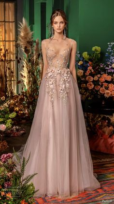 papilio fall 2020 bridal sleeveless illusion bateau sweetheart neckline embellished bodice a line ball gown wedding dress blush pink color chapel train mv -- Papilio Bridal 2020 Wedding Dresses Blush Pink Wedding Dress, Colored Wedding Dresses, Dream Wedding Dresses, Bridal Dresses, Different Color Wedding Dresses, Blush Gown, Gorgeous Wedding Dress, Ball Gown Dresses, Ball Gowns Prom