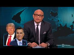 "Late Night Roundup: When Mitt Romney Got In Bed With The Donald.  Larry Wilmore looked the new public feud between Mitt Romney and Donald Trump, after The Donald responded to Mitt's speech against him by saying that Mitt ""would've dropped to his knees"" to get Trump's endorsement four years ago. And in fact, as Larry saw, Romney had nothing but great things to say about Trump at their...  Read more:  http://www.nationalmemo.com/late-night-roundup-when-mitt-romney-got-in-bed-with-the-donald/"