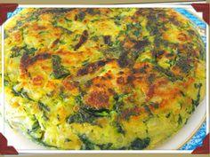 Tortilla de patatas y espinacas